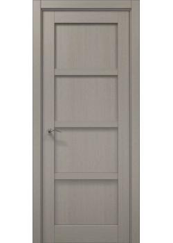 Двері ML-33 пекан світло-сірий Папа Карло