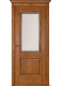 Двері Гранд ПО зі склом Версаль (горіх) Двері Білорусії