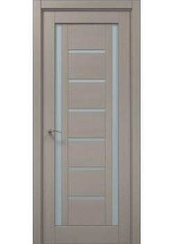 Двері ML-18 пекан світло-сірий Папа Карло