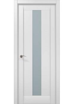 Двері ML-01 білий матовий Папа Карло