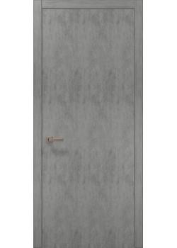Двері PL-01 бетон світлий Папа Карло