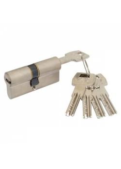 Цилиндры AGB Scudo 5000 70мм (30х40) ключ/ключ никель