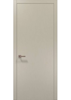 Двері PL-01 шовк капучіно Папа Карло