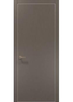Двері PL-01 шовк трюфель Папа Карло