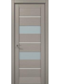 Двері ML-41 AL пекан світло-сірий Папа Карло