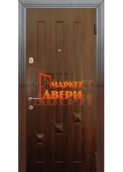 Двері Альма TDK9 Темний горіх Мілано