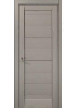 Двері ML-04 пекан світло-сірий Папа Карло