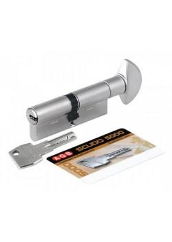 Фурнитура AGB Scudo 5000 70мм (30х40) ключ/тумблер никель