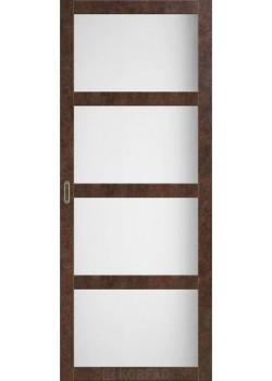 Двері BL-01 сатин білий Korfad