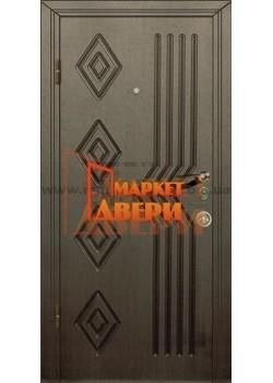 Двері Джента 510 венге темний Мілано