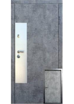 Двери Аляска мрамор серый Форт