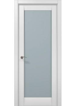 Двери ML-00 белый матовый Папа Карло