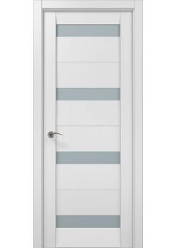 Двери ML-03 белый матовый Папа Карло