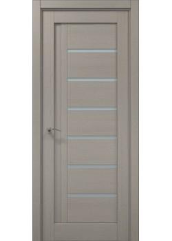 Двері ML-17 пекан світло-сірий Папа Карло