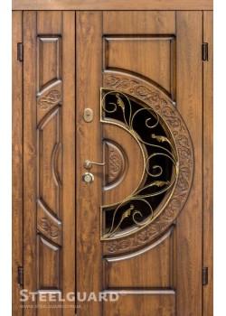 Двери OPTIMA 1200 стеклопакет Steelguard