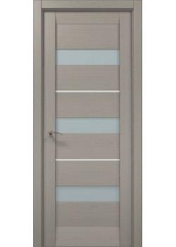Двері ML-42 AL пекан світло-сірий Папа Карло