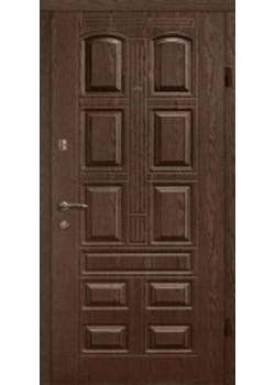 Двері 305 темний горіх квартира Arma