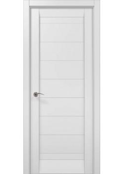Двери ML 04c белый матовый Папа Карло