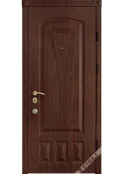 Двери Элегант Престиж орех темный Страж