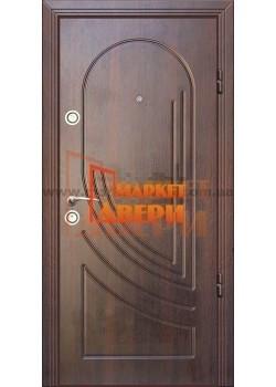Двері Джента 570 темний горіх Мілано