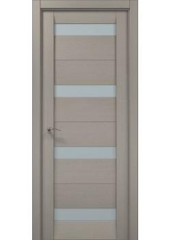 Двері ML-03 пекан світло-сірий Папа Карло