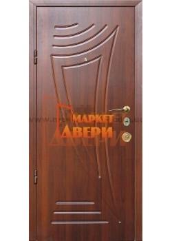 Двері Джента 540 темний горіх Мілано