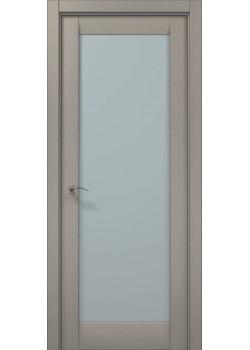 Двері ML-00 пекан світло-сірий Папа Карло