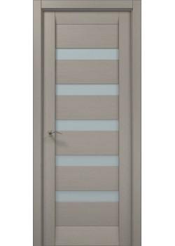 Двері ML-02 пекан світло-сірий Папа Карло