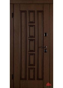Двери В-КВАДРО ДУБ ТЕМНЫЙ Двери Белорусии (входные)