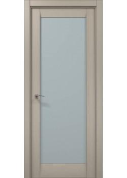 Двери ML-00 дуб кремовый брашированный Папа Карло