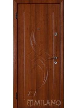 Двері Джента 103 світлий горіх Мілано