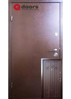 Двері Стандарт М Класік темний горіх Qdoors