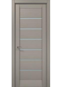 Двері ML-14 пекан світло-сірий Папа Карло