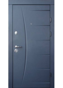 Двери Глория графит Qdoors