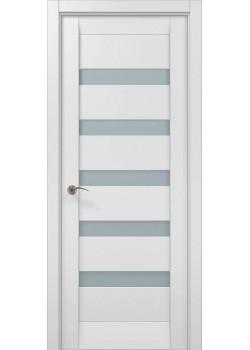 Двери ML 02c белый матовый Папа Карло