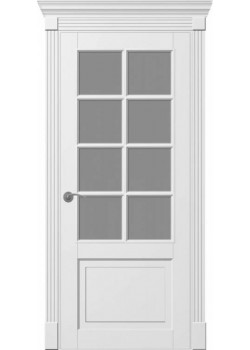 Двери Ницца ПО белая DVERIPRO