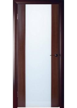 Двері Глазго венге біл.дуб ПО Woodok