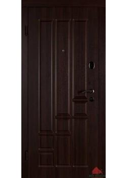 Двери ТИТАН ТЕМНЫЙ ОРЕХ Двери Белорусии (входные)