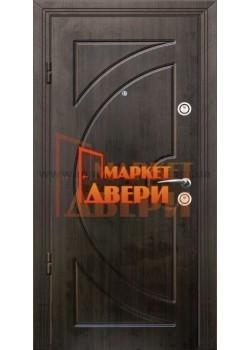Двері Джента 550 венге темний Мілано