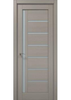 Двері ML-16 пекан світло-сірий Папа Карло