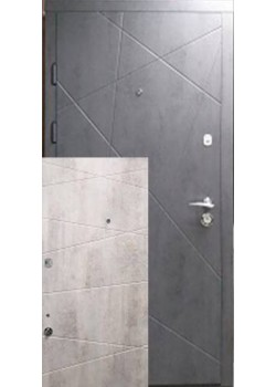 Двері 100 бетон темний-світлий Arma