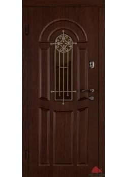 Двери ФЛОРА ОРЕХ КОНЬЯК Двери Белорусии (входные)
