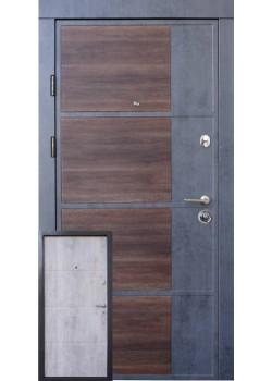 Двери Премиум Бостон-М бетон темный-светлый Qdoors