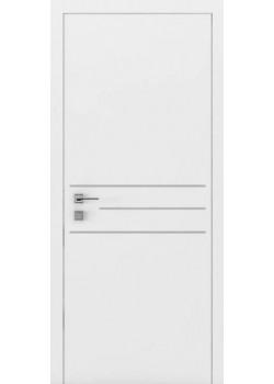 Двери Prima 3G ПГ белый мат Rodos