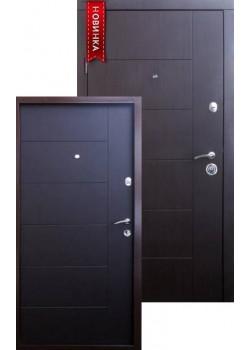 Двері Еталон Арізона венге темний Qdoors
