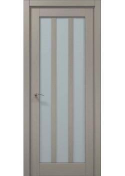 Двері ML-26 пекан світло-сірий Папа Карло