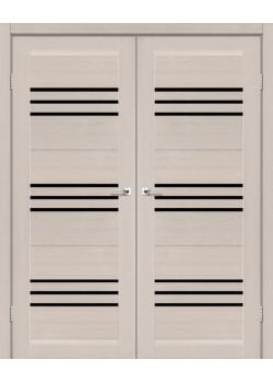 Двери Sovana BLK двойные Leador