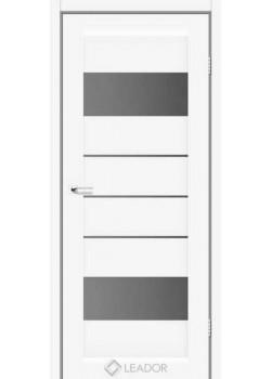 Двери Arona Белые серый графит Leador