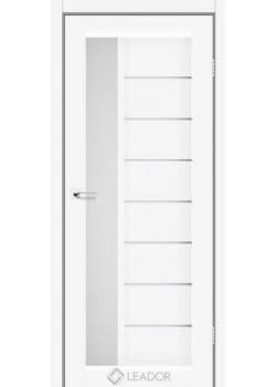 Двери Lorenza Белые сатин Leador