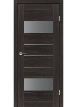 Двери Arona Серый графит дуб саксонский Leador